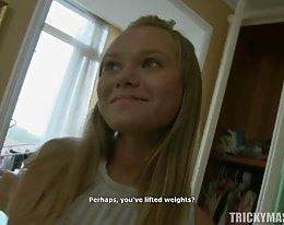 巨大な黒いコックで Anissa ケイト analed