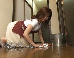 ハウスビッグコックを教え小さなアジア日本slutを遵守する